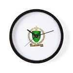 FOURNIER Family Crest Wall Clock