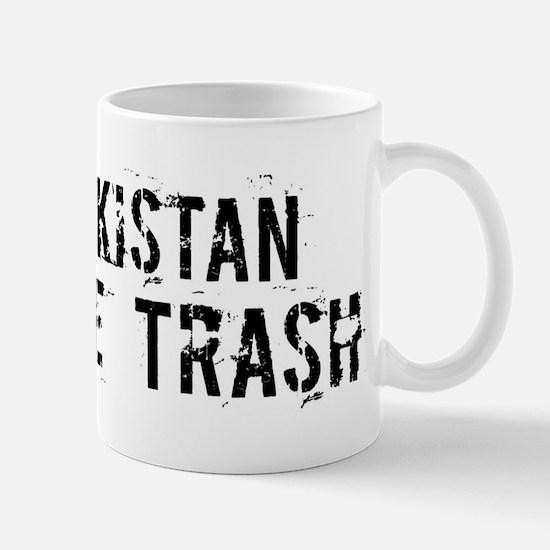 Tajikistan White Trash Mug