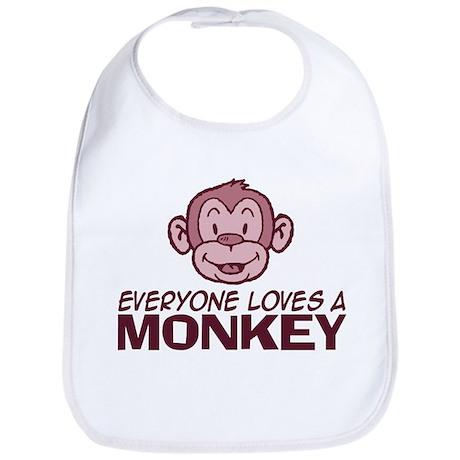 Everyone loves a Monkey Bib