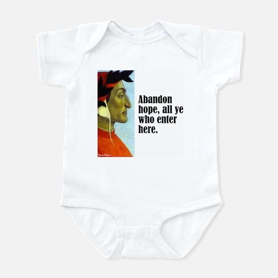 """Dante """"Abandon Hope"""" Infant Bodysuit"""