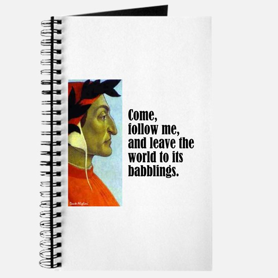 "Dante ""Follow Me"" Journal"