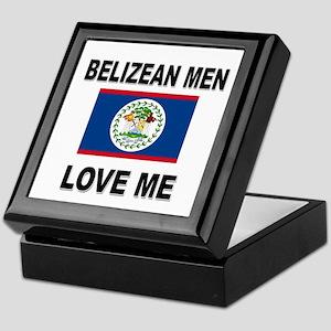 Belizean Men Love Me Keepsake Box