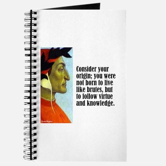 """Dante """"Your Origin"""" Journal"""