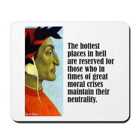 """Dante """"Hottest Places"""" Mousepad"""