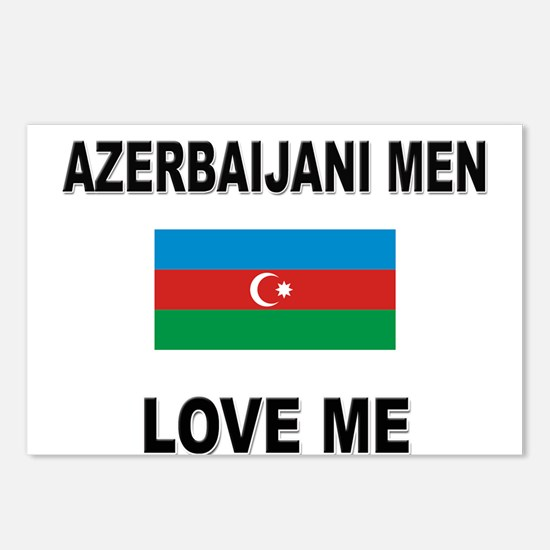 Azerbaijani Men Love Me Postcards (Package of 8)