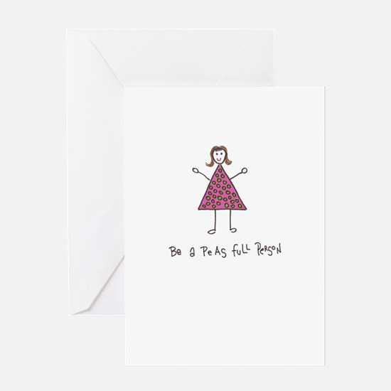 Positive message Greeting Card