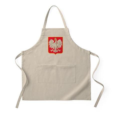 Polish Heritage Shield BBQ Apron