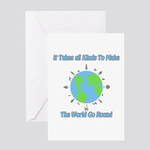 Trenton makes the world takes greeting cards cafepress around the world greeting card m4hsunfo