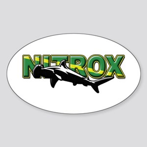 NITROX Hamerhead Oval Sticker