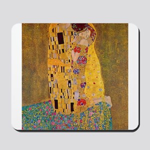 The Kiss by Klimt Mousepad