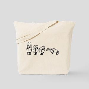 Beth - ASL Tote Bag