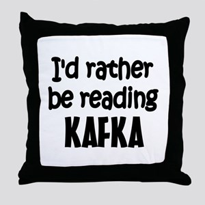 Kafka Throw Pillow
