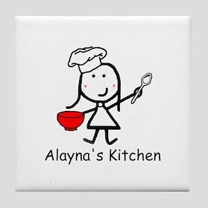 Chef - Alayna Tile Coaster