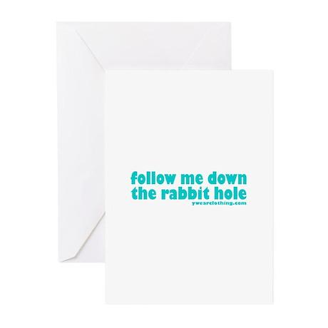 Rabbit Hole Greeting Cards (Pk of 10)