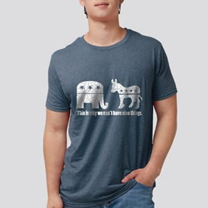 Can't have nice things! White design T-Shirt