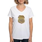 Junior G-Man Corps Women's V-Neck T-Shirt