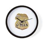 Junior G-Man Corps Wall Clock