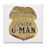 Junior G-Man Corps Tile Coaster
