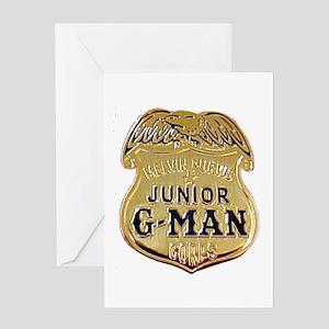 Junior G-Man Corps Greeting Card