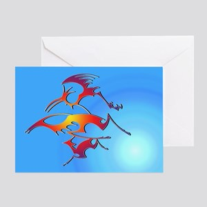 In Flight... Greeting Card