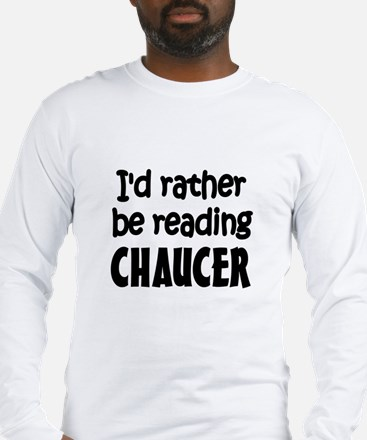 Chaucer Long Sleeve T-Shirt