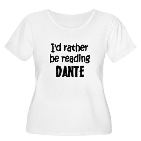 Dante Women's Plus Size Scoop Neck T-Shirt