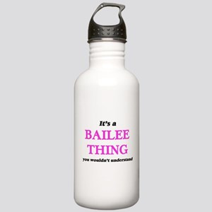 It's a Bailee thin Stainless Water Bottle 1.0L