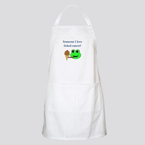 SOMEONE I LOVE LICKED CANCER! BBQ Apron