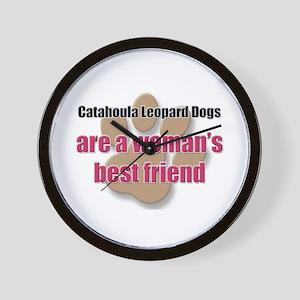 Catahoula Leopard Dogs woman's best friend Wall Cl