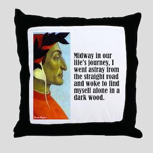 "Dante ""Midway"" Throw Pillow"