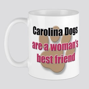 Carolina Dogs woman's best friend Mug
