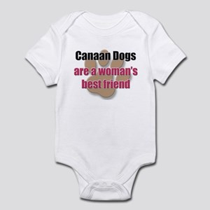 Canaan Dogs woman's best friend Infant Bodysuit