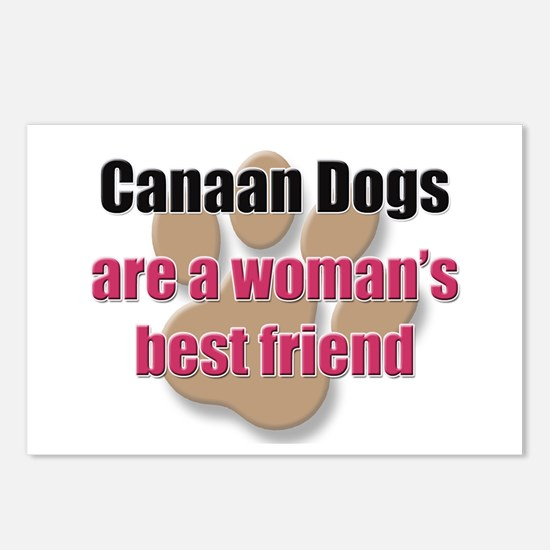 Canaan Dogs woman's best friend Postcards (Package