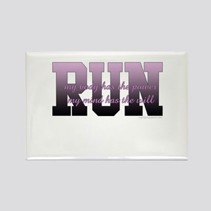 RUNNER Rectangle Magnet