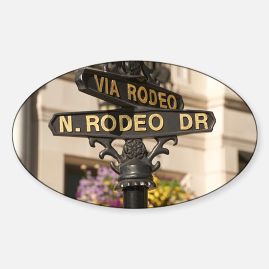 N. RODEO DRIVE Decal