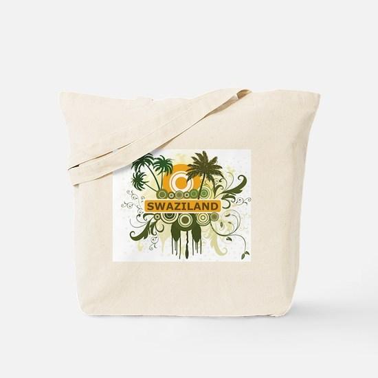 Palm Tree Swaziland Tote Bag