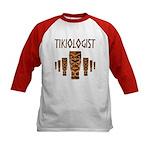 Tikiologist Kids Baseball Jersey