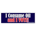 Consume_Oil Bumper Sticker (50 pk)