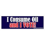 Consume_Oil Bumper Sticker (10 pk)