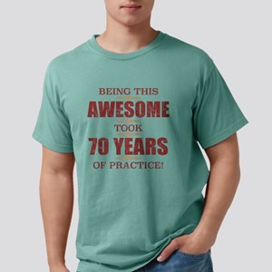 Awesome 70th Birthday T-Shirt