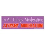 Moderation_X Bumper Sticker (50 pk)