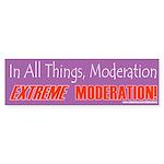 Moderation_X Bumper Sticker (10 pk)