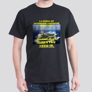 Aircraft Carrier Dark T-Shirt