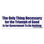 Good Triumphs Bumper Sticker