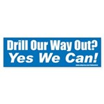 Drill_Yes Bumper Sticker (10 pk)