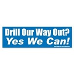 Drill_Yes Bumper Sticker
