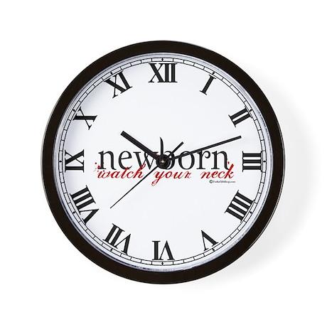Newborn Wall Clock