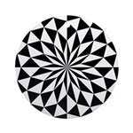 White Lotus Ornament (Round)