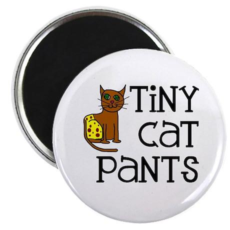 "Tiny Cat Pants 2.25"" Magnet (10 pack)"