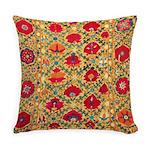 Antique Uzbek Everyday Pillow